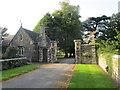 ST6390 : Entrance gates and lodge, Thornbury Castle by Jonathan Thacker