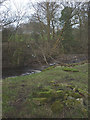 SD6376 : No footbridge (or footpath) over Leck Beck by Karl and Ali
