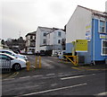 ST3088 : Entrance to Station Approach Car Park, Newport by Jaggery
