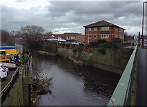 SK4293 : The River Don in Rotherham by Graham Hogg