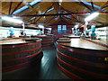 NT4466 : Washbacks at Glenkinchie Distillery by Brian Turner