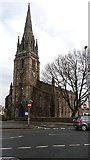 SE2932 : Spire of the former St Matthew's, Holbeck by Stephen Craven