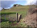 SK2354 : Squeeze stile at the start of the footpath to Manystones Lane by Ian Calderwood