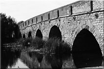 TL1351 : Great Barford bridge by John Winder