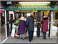 SD8010 : Chadwick's Black Pudding Stall in Bury Market by Neil Theasby