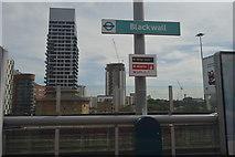 TQ3880 : Blackwall DLR Station by N Chadwick