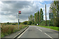 TQ5987 : Wyngray Farm bus stop by Robin Webster