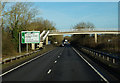 TQ2619 : Footbridge over the A23 Northbound by Ian S