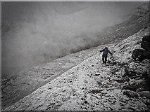 NN2264 : Ascent of Sgòr Eilde Beag by Mick Garratt