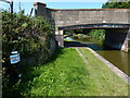 SJ7362 : Trent & Mersey Canal Milepost along the towpath by Mat Fascione