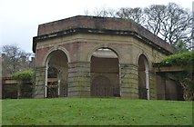SE2955 : Colonnade, Valley Gardens by N Chadwick