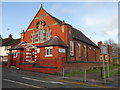 SJ2969 : The Salvation Army church, Dee Road, Connah's Quay by John S Turner