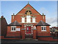 SJ2969 : The front of The Salvation Army church, Dee Road, Connah's Quay by John S Turner