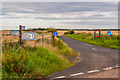 NU1136 : Lane junction to Ross by Ian Capper
