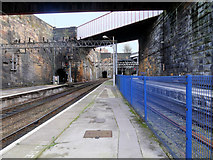 SJ3590 : Liverpool Lime Street Station, Copperas Hill Bridge by David Dixon