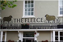 SP3509 : The Fleece (c) - signage, 11 Church Green, Witney, Oxon by P L Chadwick