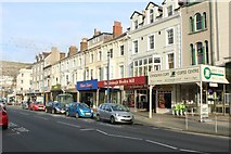 SH7882 : Shops on Mostyn Street, Llandudno by Richard Hoare