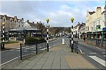 SH7882 : View along Mostyn Street by Richard Hoare