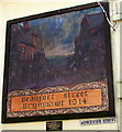 SO1911 : Beaufort Street Brynmawr 1914 mural by Jaggery