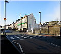 SO1911 : Zebra crossing, King Street, Brynmawr by Jaggery
