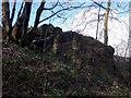 SK1460 : Former footbridge abutment by Ian Calderwood
