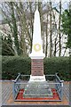 SH7667 : War Memorial in Dolgarrog by Richard Hoare