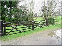 TG2403 : Gates by High Ash Farm by Evelyn Simak