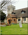 TQ3793 : Chingford Old Church : tower and south porch by Julian Osley