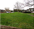 ST7076 : Grass, trees and houses, Pucklechurch by Jaggery