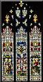 TF1134 : East window, St Andrew's church, Billingborough by Julian P Guffogg