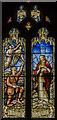 TF1134 : Stained glass window, St Andrew's church, Billingborough by Julian P Guffogg