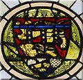 TF1134 : Stained glass window detail, St Andrew's church, Billingborough by Julian P Guffogg