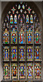 TF1135 : West window, St Andrew's church, Horbling by Julian P Guffogg
