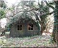 TM1779 : Dilapidated Nissen hut by Evelyn Simak
