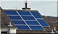 J4569 : Solar panels, Comber (February 2016) by Albert Bridge
