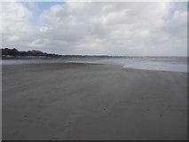 SZ1891 : Mudeford: tidal sand at the tip of Mudeford Spit by Chris Downer