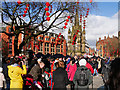 SJ8398 : Chinese New Year Celebrations, Albert Square by David Dixon