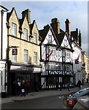 SP0202 : The Fleece, Cirencester town centre by Jaggery