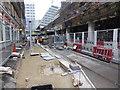 SP0686 : Birmingham tram system - Navigation Street by Chris Allen
