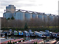 SK2323 : Shobnall Marina and Coors maltings by Chris Allen