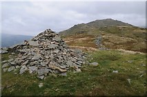 NY3507 : Cairn on Nab Scar by Philip Halling