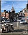 TL2433 : Baldock: the corner of High Street by John Sutton