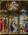 TF1089 : Nativity window, St Thomas' church, Market Rasen by Julian P Guffogg