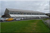 SX4853 : Flying Boat Hangars, Mount Batten by N Chadwick