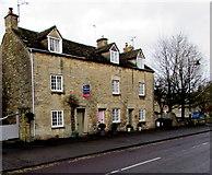 ST8893 : Grade II listed row of three houses, New Church Street, Tetbury by Jaggery