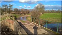 SK8166 : Bridge over River Fleet by Chris Morgan