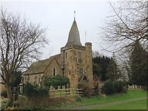 TQ7924 : St. James the Great, Ewhurst Green by Chris Whippet