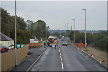 TR1332 : Roadworks, A259 by N Chadwick