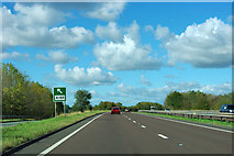 SE4284 : A19 heading north by Robin Webster