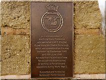 SD4210 : HMS Ringtail Memorial Plaque by David Dixon